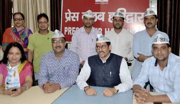 Haridwar ज्वालापुर में विद्युत अधिकारी-कर्मचारियों ने प्रदर्शन किया