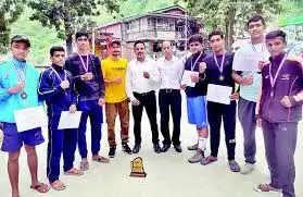 Dharmshala कांगड़ा के मुक्केबाजों ने जीता गोल्ड