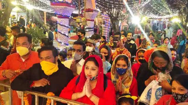 Nainital नंदा देवी को बकरे की बलि देने आए लोगों को पुलिस ने लौटाया