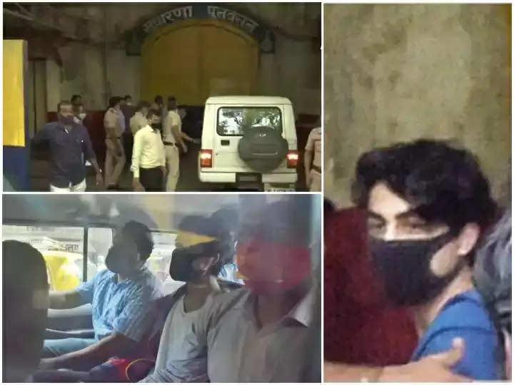 aryan khan sent arthur road jail