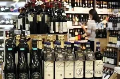 महामारी के बीच 2021 में South Korea शराब का आयात लगभग दोगुना हुआ